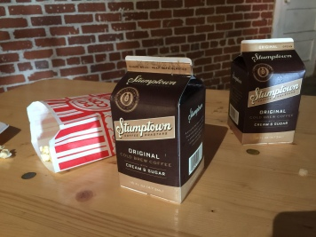 Coffee is life! Stumptown full-size servings ftw!