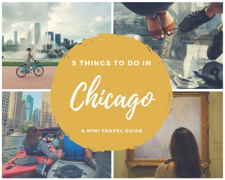 5 Things To Do in Chicago - Blog Graphic